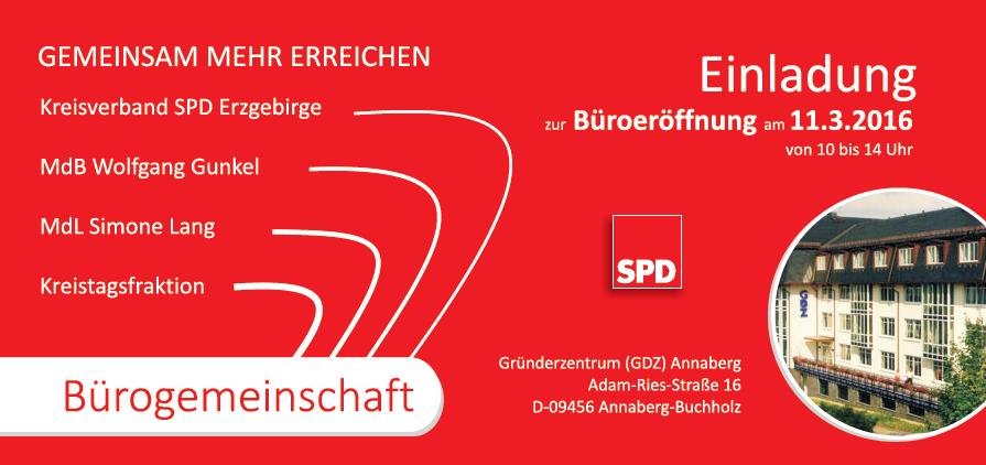 Einladung zur Büroeröffnung am 11. März 2016 | SPD-Fraktion im ...